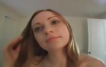 Cute amateur POV suck and fuck